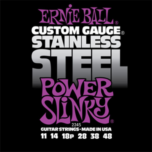 Ernie Ball Stainless Steel Power Slinky - Bananas At Large®