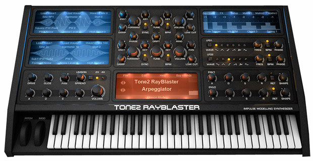 Tone 2 Rayblaster Synthesizer [Download] - Bananas at Large