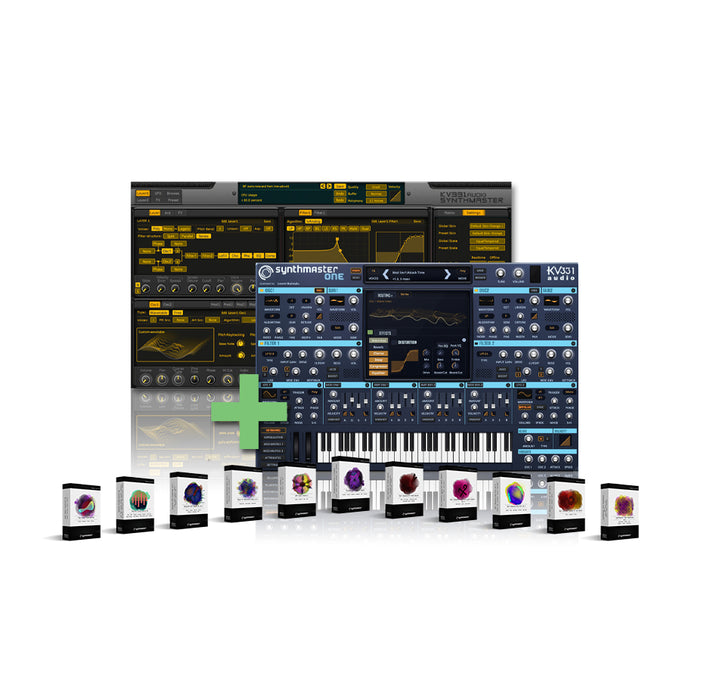 KV331 Audio KV SynthMaster Everything Bundle Upgrade from SynthMaster Player [Download]