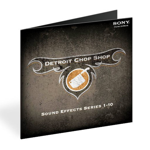 Sony Detroit ChopShop SFX:1-10 [Download] - Bananas at Large