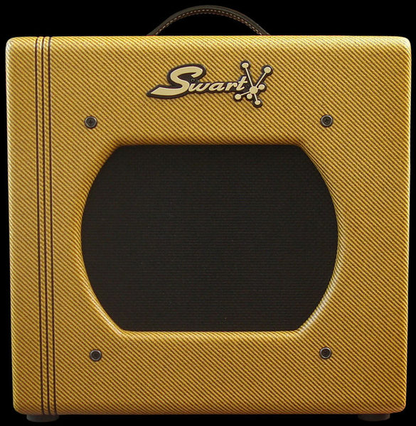 Swart Amps STR-Tweed Space Tone Reverb Tweed 5 Watt SE Class A Tube Combo Amp