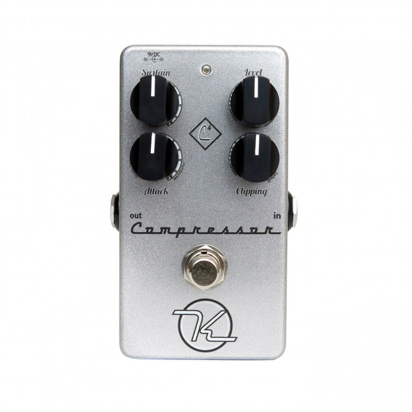 Keeley 4 Knob Guitar Compressor - Silver - Bananas At Large®