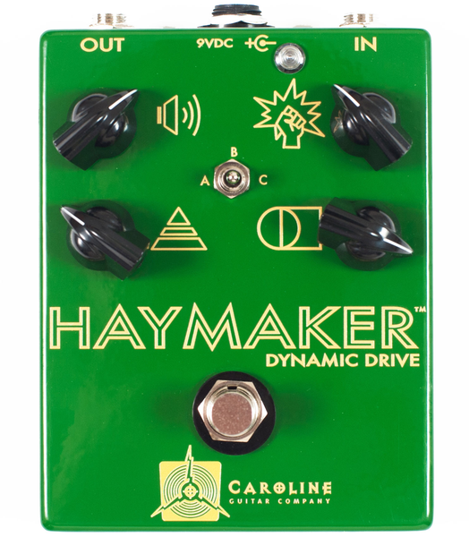 Caroline Guitar Company Haymaker Overdrive Pedal - Bananas at Large