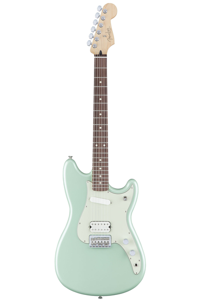 Fender Duo Sonic HS with Rosewood Fingerboard - Surf Green - Bananas at Large - 1