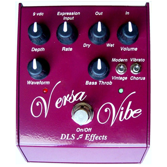 DLS Effects Versa Vibe - Univibe Pedal - Bananas at Large