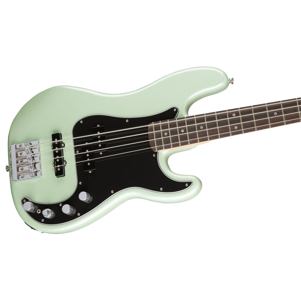 Fender Deluxe Active Precision Bass Special with Rosewood Fingerboard - Surf Pearl - Bananas at Large - 2