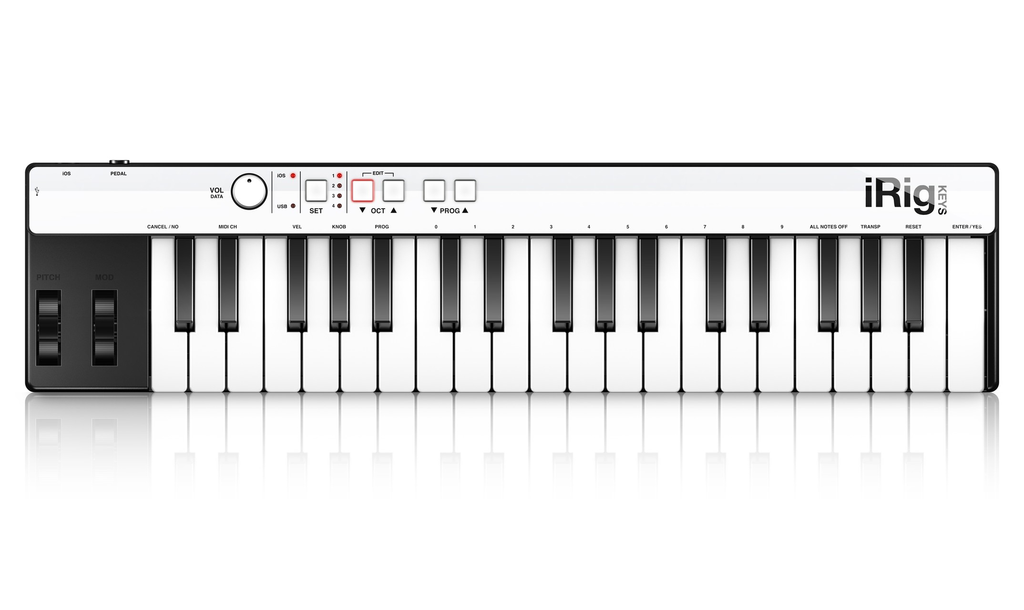 IK Multimedia Compact iRig Keys IOS Midi Controller - Bananas At Large®
