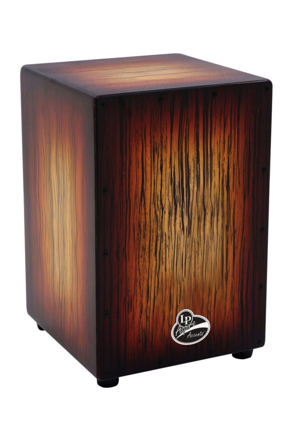 Latin Percussion LPA1332-SBS Aspire Accents Cajon, Sunburst Streak - Bananas at Large