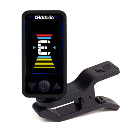 Planet Waves PW-CT-17BK Eclipse Chromatic Clip-on Tuner - Black - Bananas at Large