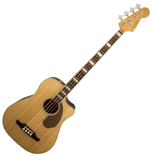 Fender Kingman Bass SCE with Case - Natural - Bananas At Large®