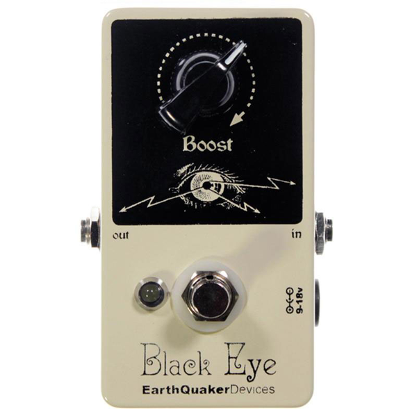 Earthquaker Black Eye Clean Boost Guitar Pedal - Bananas at Large