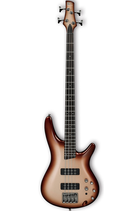 Ibanez SR300E SR Standard Series Electric 4 String Bass - Charred Champagne Burst - Bananas at Large - 1