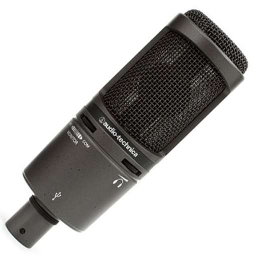 Audio-Technica AT2020USB+ Cardioid Condenser USB Microphone - Bananas At Large®