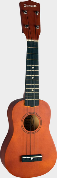 Savannah SU-100 Soprano Ukulele - Natural - Bananas at Large