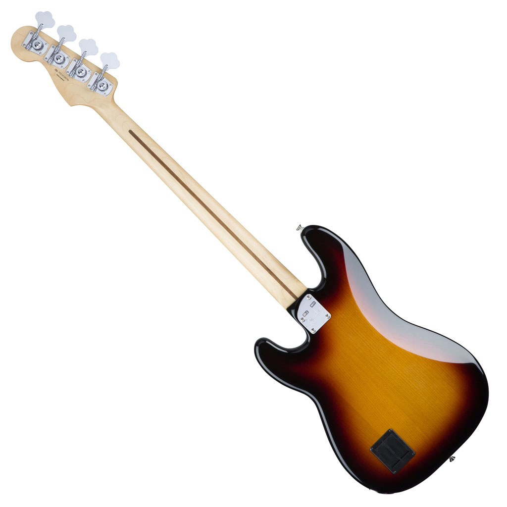 Fender Deluxe Active P Bass Special with Maple Fingerboard - 3 Color Sunburst - Bananas at Large - 4