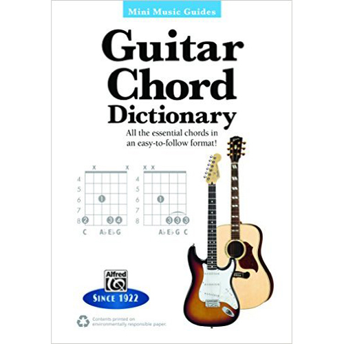 Alfred Mini Music Guides Guitar Chord Dictionary - Bananas At Large®
