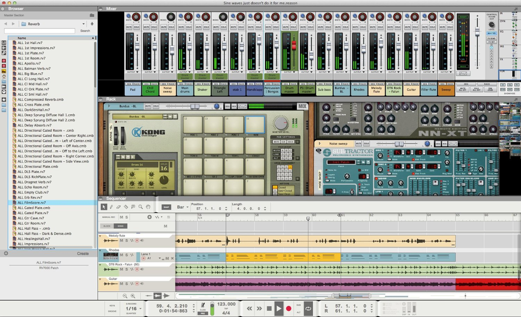 Propellerhead Reason 8 Software and DAW - Bananas at Large - 2