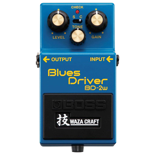 Boss BD-2W Blues Driver Waza Craft Special Edition Pedal - Bananas at Large - 1