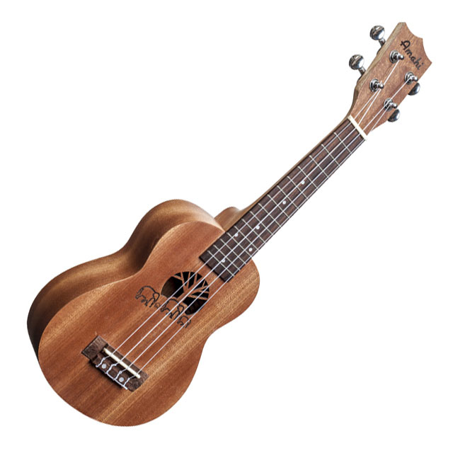 Amahi UK130 Soprano Traditional Shape Ukulele with Gig Bag - Bananas At Large®