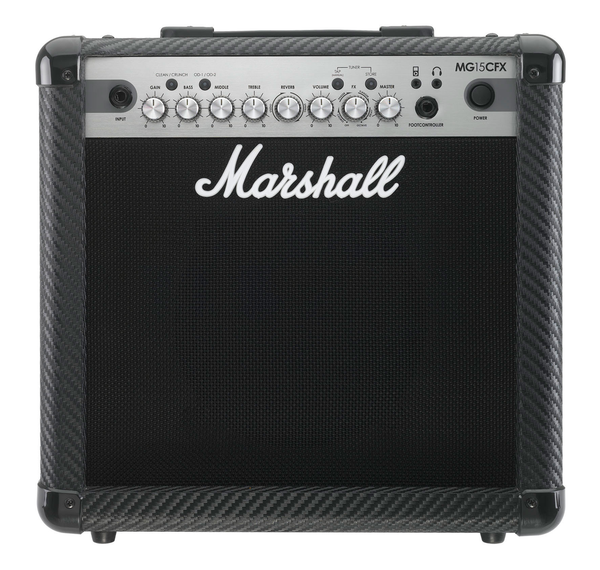 Marshall MG15CFX 15 Watt 1x8 Combo Amp (B-STOCK) - Bananas at Large
