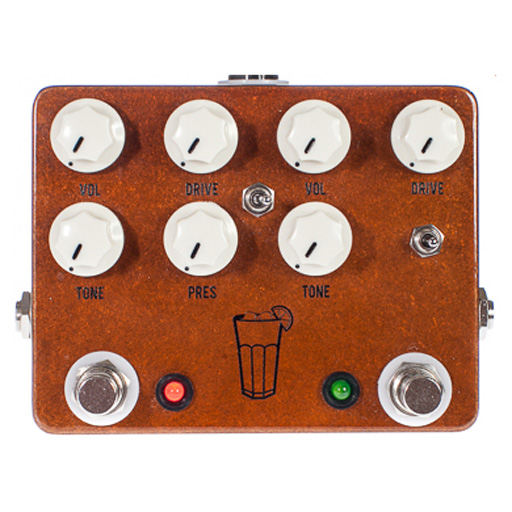 JHS Sweet Tea 2 In 1 Overdrive Pedal - Bananas at Large - 1