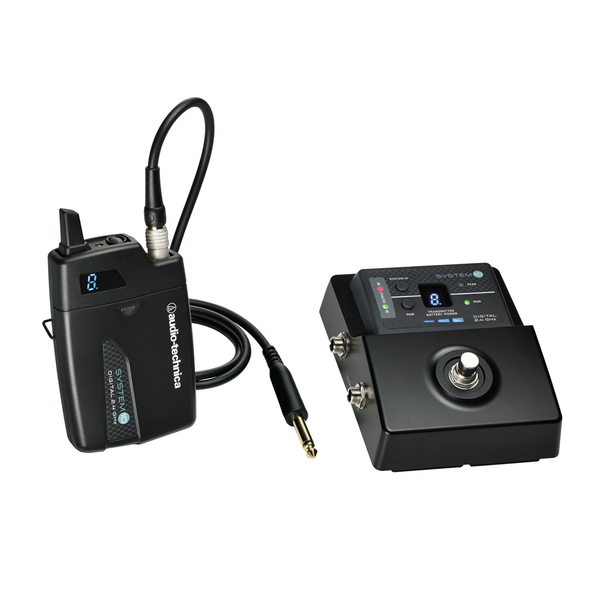Audio Technica ATW-1501 System 10 Stompbox Digital Wireless System - Bananas At Large®