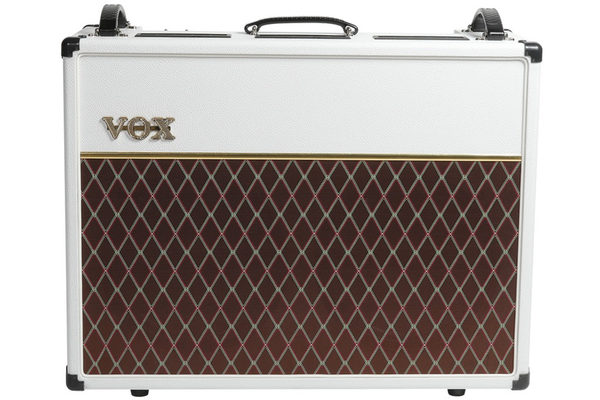 Vox AC30C2 30 Watt Limited Edition Guitar Combo Amp - White Bronco