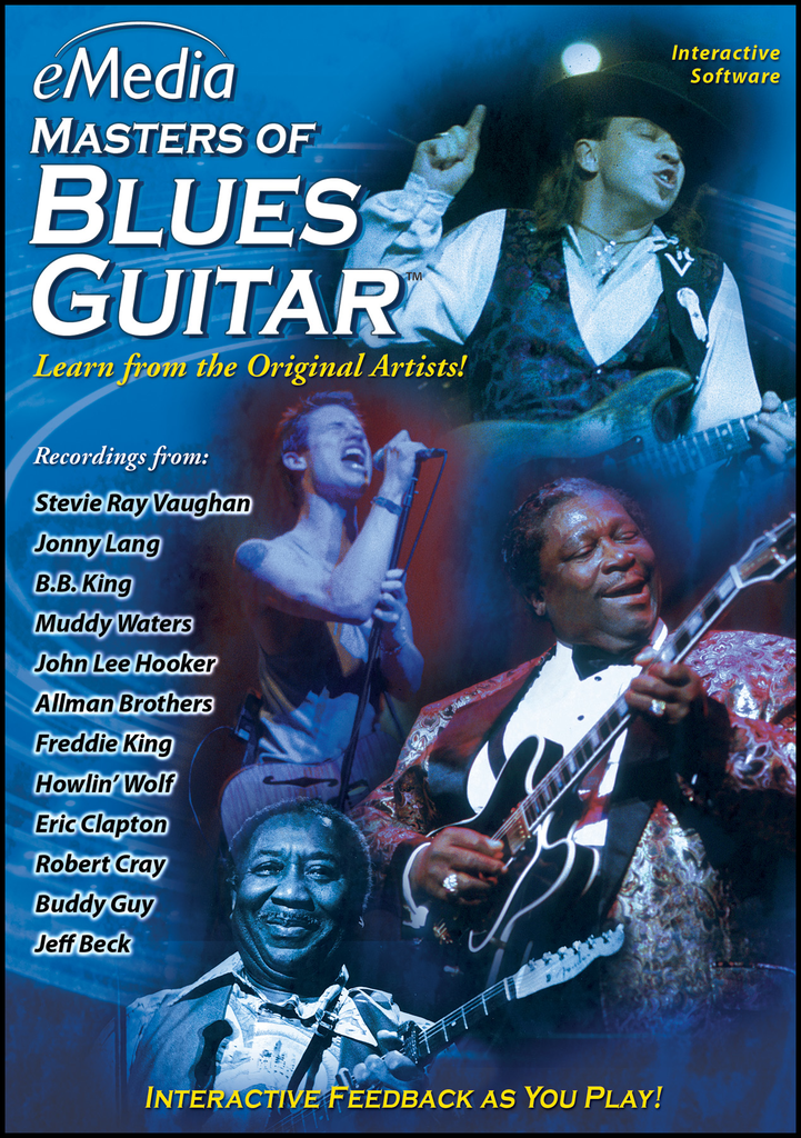 eMedia Masters Blues Guitar PC [Download] - Bananas at Large - 1