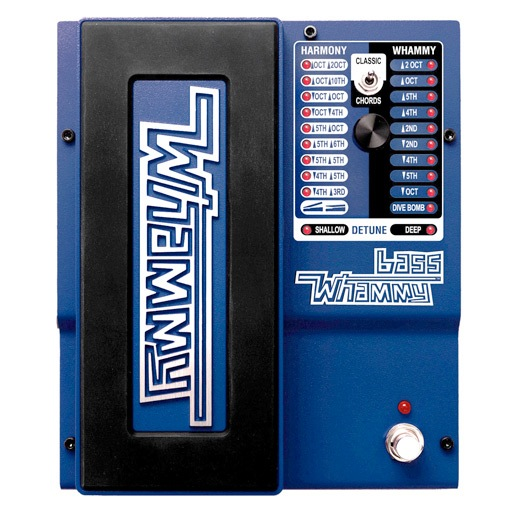 DigiTech Bass Whammy Pitch-Shift Effect Pedal for Bass Guitar - Bananas At Large®