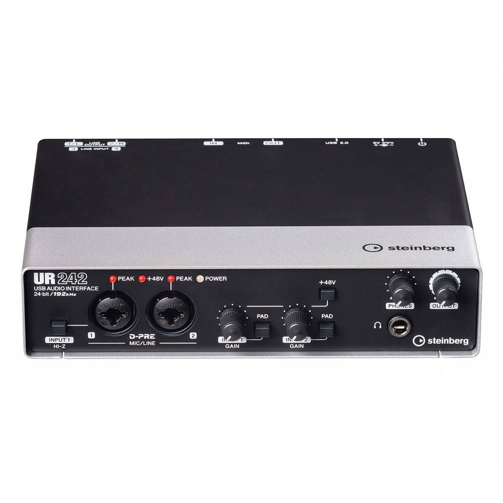 Steinberg UR242 USB 2.0 Audio Interface - Bananas at Large - 1