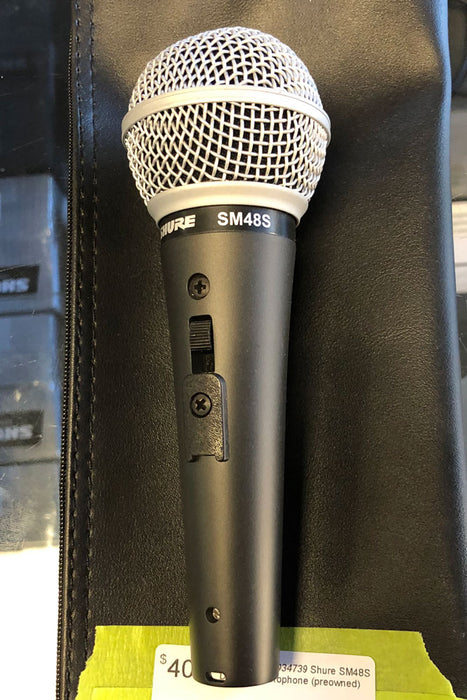 Shure SM48S Dynamic Microphone (Pre-Owned)
