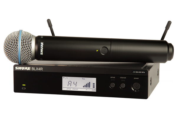 Shure BLX24R/B58-J10 Handheld Wireless System