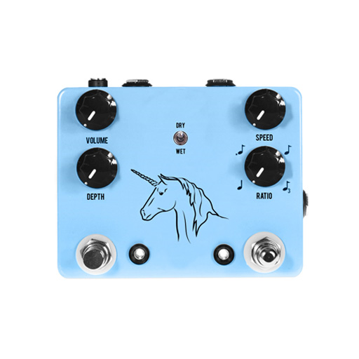 JHS Unicorn Photocell Modulation Uni-Vibe Pedal with Tap Tempo - Bananas At Large®