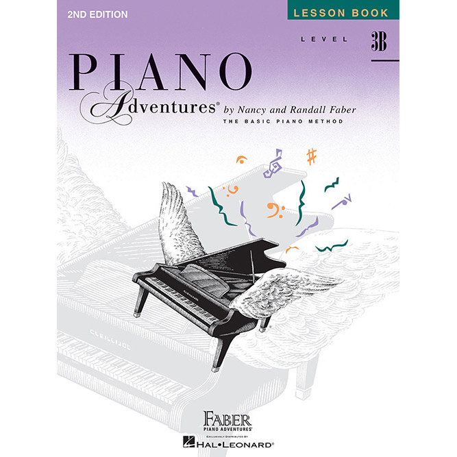 Hal Leonard Piano Adventures Level 3B Lesson Book 2nd Edition - Bananas At Large®