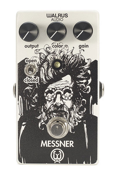Walrus Audio Messner Transparent Light-Gain Overdrive