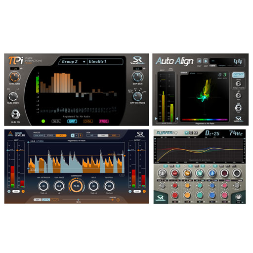 Sound Radix Radical Bundle 2 Auto-Align, SurferEQ, Pi, Drum Leveler [Download] - Bananas at Large