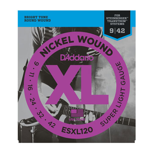 D'Addario ESXL120 Nickel Wound Super Light Double BallEnd Electric Guitar Strings - Bananas at Large