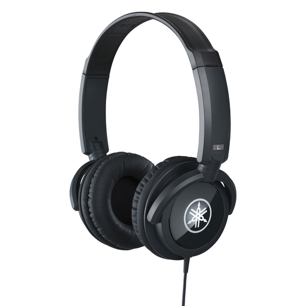 Yamaha HPH-100 Closed-Back Headphones - Black - Bananas at Large