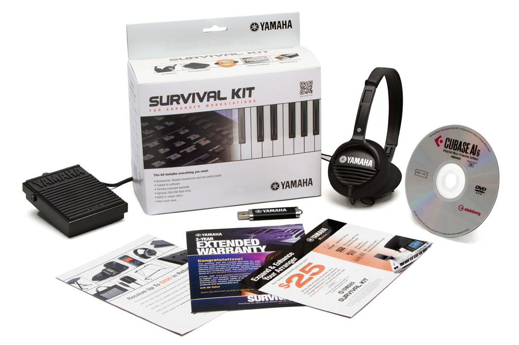 Yamaha SKAW Arranger Workstation Survival Kit - Bananas at Large - 2