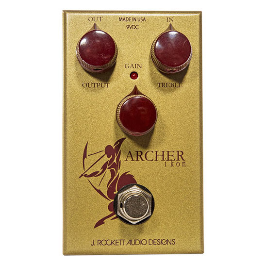 J. Rockett Archer Ikon Klon Centaur Clone Overdrive Boost Guitar Pedal - Bananas At Large®