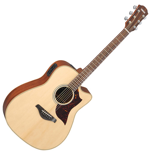 Yamaha A1M Dreadnought Acoustic Electric Guitar - Bananas at Large