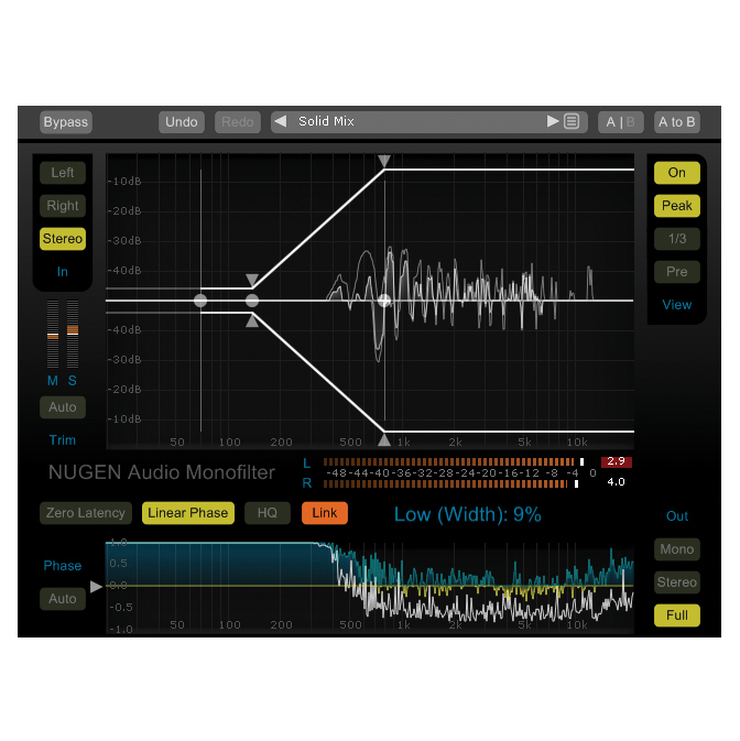 NUGEN Audio Monofilter Elements Make Bass Louder More Focussed [Download] - Bananas at Large