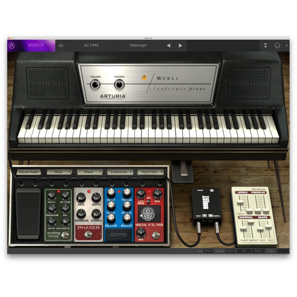 Arturia Wurli V2 License Electric Piano [Download] - Bananas At Large®