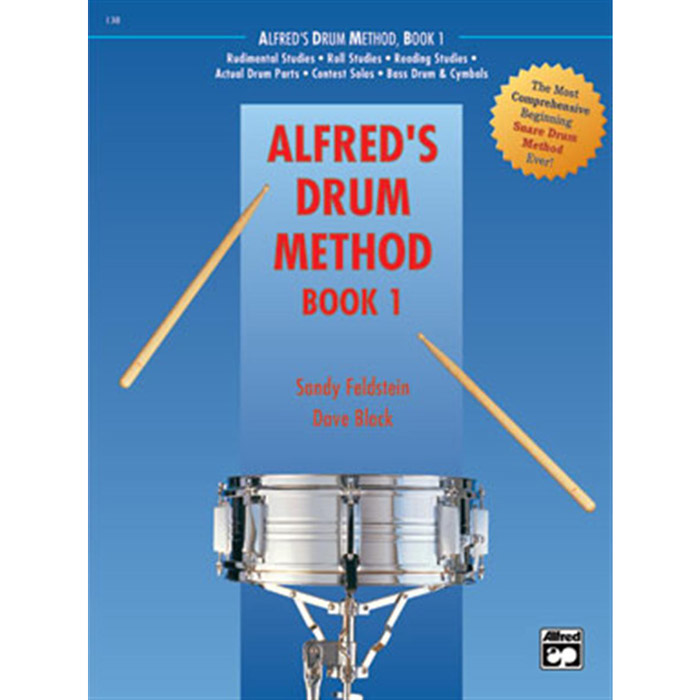 Alfred Drum Method Book 1 - Book - Bananas At Large®