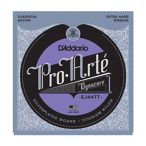 DAddario EJ44TT Pro-Arte Dynacore Titanium Trebles Extra-Hard Tension Classical Strings - Bananas at Large