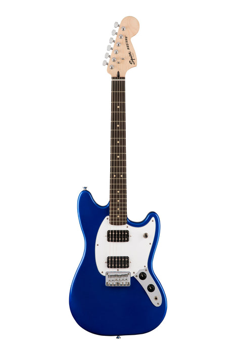 Squire Bullet Mustang HH Electric Guitar - Imperial Blue
