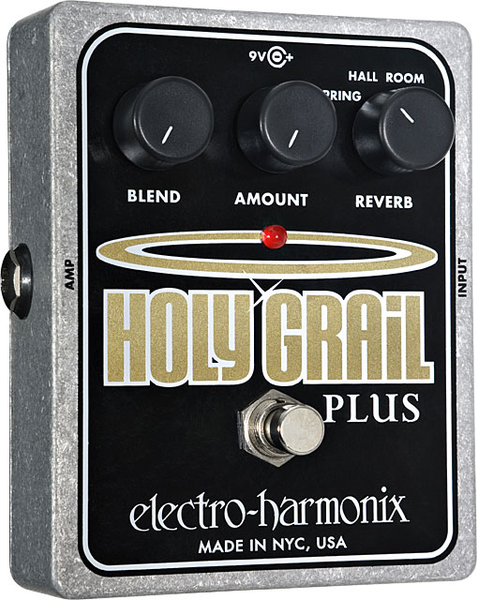 Electro-Harmonix Holy Grail Plus Reverb Pedal - Bananas at Large