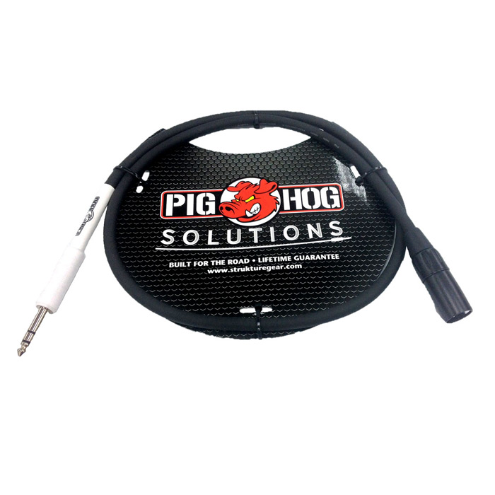 Pig Hog PX4T3 Solutions XLR male - 1/4 in. TRS, 3ft - Bananas at Large