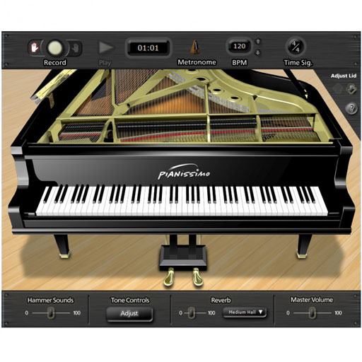 Acoustica Pianissimo Grand Piano Virtual Instrument for PC [Download] - Bananas At Large®