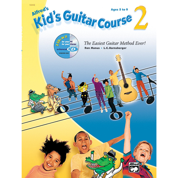 Alfred's Kid's Guitar Course 2 - Bananas at Large